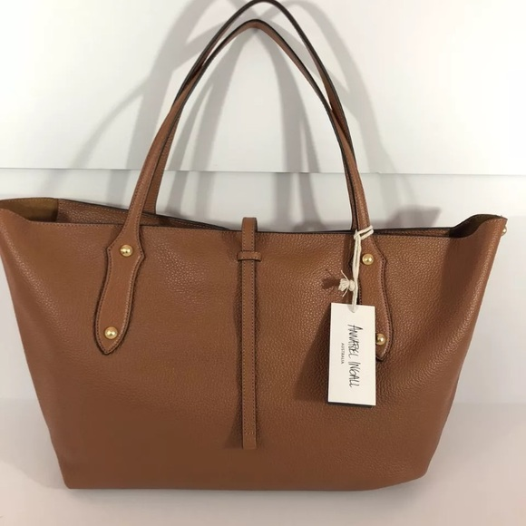 019f8b3383f5 Annabel Ingall Large Isabella Tote in Toffee - NWT